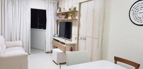 Apartamento 58m², 2 Dormitorios,  1 Vagas - Campo Belo - Ap11334