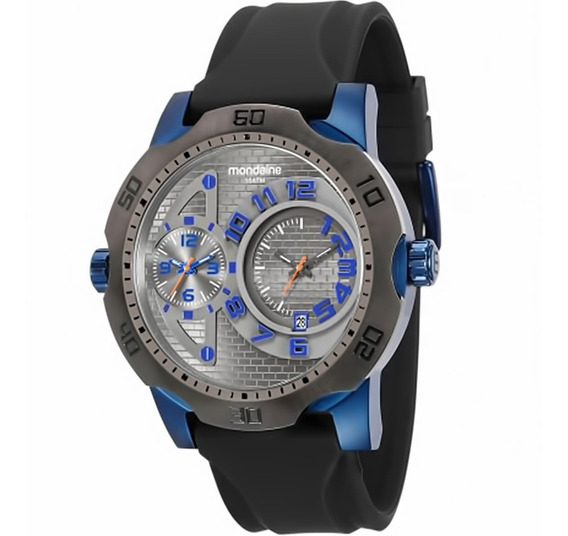 Relógio Masculino Mondaine 94850gpmvqu4 Borracha