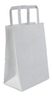 Bolsa De Papel Kraft Lisa 14x8x20 Cm