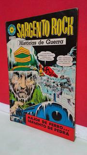 Hq Epopéia Ebal/1967 Sargento Rock Nº10 Histórias De Guerra