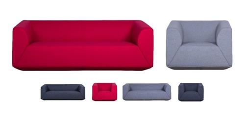 Imagen 1 de 1 de Sofá Elegante Moderno 1 Y 3 Puestos