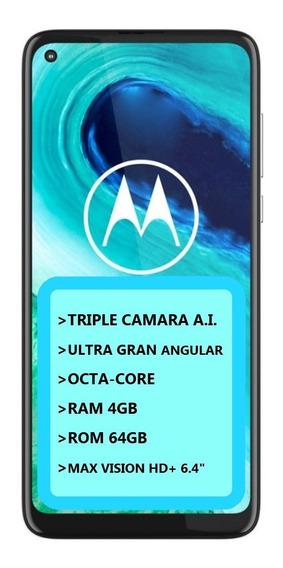 Celular Libre Motorola Moto G8 4/64gb Triple Camara Cuotas