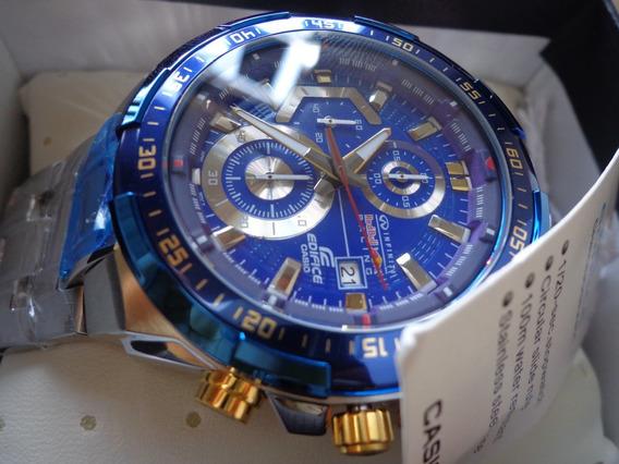 Relógio Casio Edifice Ef539 Redbull Infiniti Racing