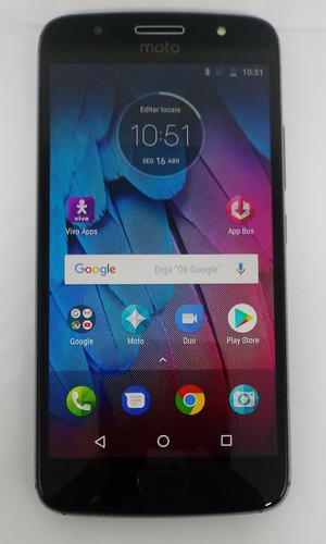 Motorola Moto G5s Xt1792 32gb Platinum Dual Original Vitrine