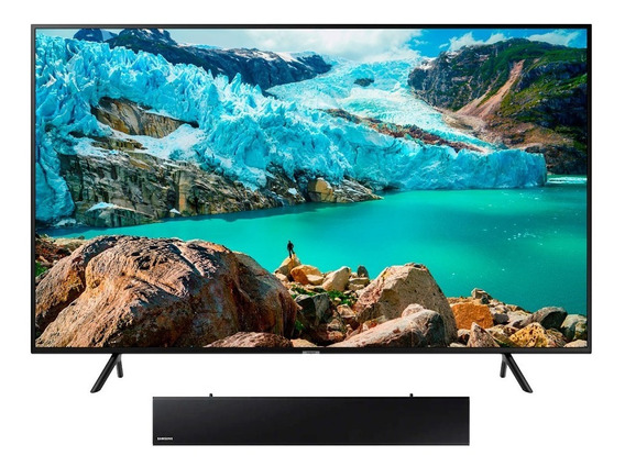 Combo One Box Tv 55 Pulgadas Uhd 4k Smart + Barra De Sonido