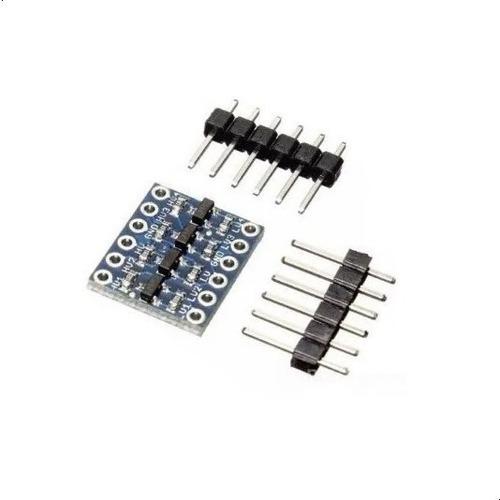 Adaptador Conversor Nivel Logico 5v 3.3v 4ch Arduino