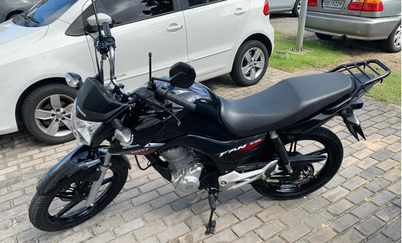 Honda Cg 160 Fan 2018/2018 Preta