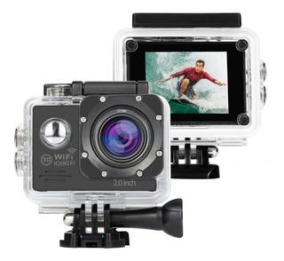 Camara Video Acción Full Hd Wifi Deportes Sumergible 30 Mts