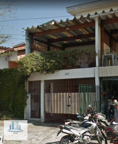 Imagem 1 de 30 de Sobrado Residencial À Venda, Jardim Consórcio, São Paulo. - So0120