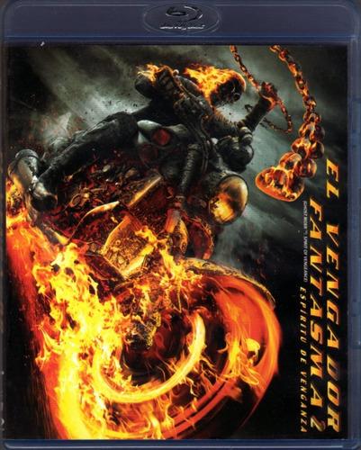 El Vengador Fantasma 2 / Nicolas Cage Marvel Bluray Original