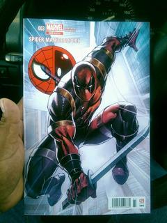 Comic Hombre Araña Deadpol