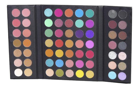 Paletas De Sombras Para Ojos Maquillaje Con 63 Tonos /c