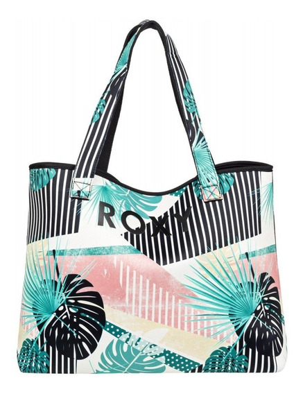 Bolso Reversible Roxy All Things Printed Original