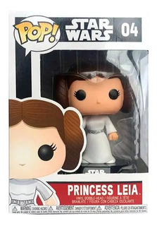 Funko Pop 04 Princesa Leia Star Wars Wabro. 2319