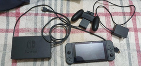 Nintendo Switch Cinza Desbloqueavel