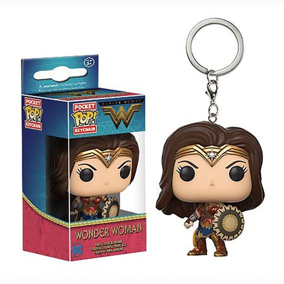 Wonder Woman - Chaveiro Funko Pop Keychain - Envio Imediato