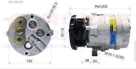 Compressor Gm S10 / Blazer 2.5 Diesel Motor Maxion Novo
