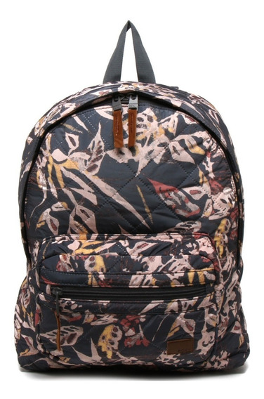 Mochila Roxy Morning Light Cinza