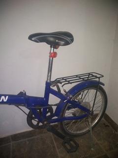 Bicicleta Jordan Plegable