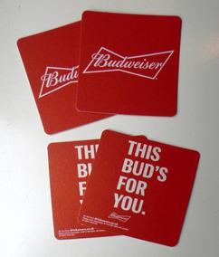 Budweiser - 20 Bolachas De Chopp - Porta-copos Cerveja