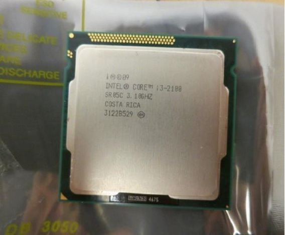 Processador Core I3 2100 Lga 1155 Intel 3.10ghz Perfeito