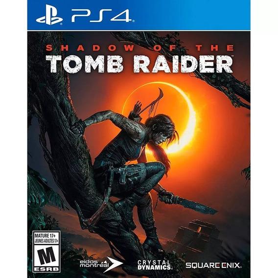 Shadow Of The Tomb Raider - Playstation 4 Msi