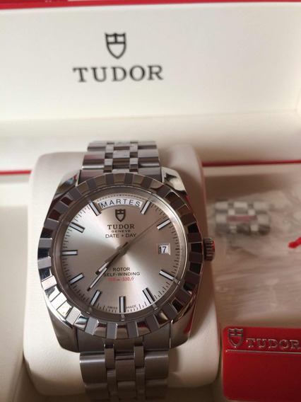 Hermoso Reloj Tudor Date Day By Rolex
