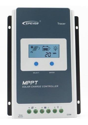 Controlador Solar Mppt Epever Tracer 40a 12v / 24v