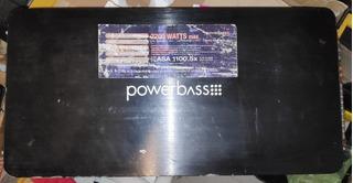 Amplificador Powerbass 5 Canales 1100.5