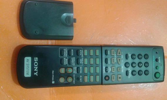 Controle Receiver Sony Rm-pp404