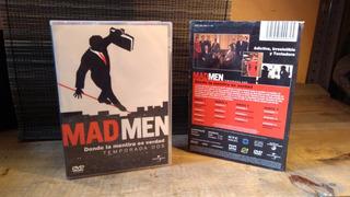 Serie De Televisión Mad Men Segunda Temporada 4 Dvd Original