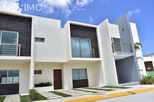 Imagen 1 de 14 de Casa De 3 Recamaras En Privada En Cancun Quintana Roo