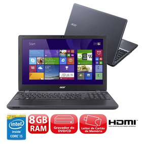 Notebook Acer_i5 2.4ghz 8gb 15,6 256gb Ssd Samsung 850 Pro