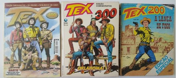Lote Tex 200, 300 E 400 Rio Gráfica, Globo E Mythos