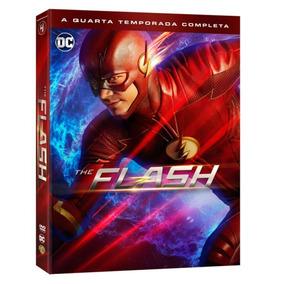 Dvd The Flash - 4 Temporada - 5 Discos