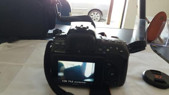 Câmera Sony Alpha A550 - Usada- Não Filma