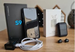 Samsung S9 64 Gb, 4gb Ram, Vidirio Roto+cable Usb C Genérico