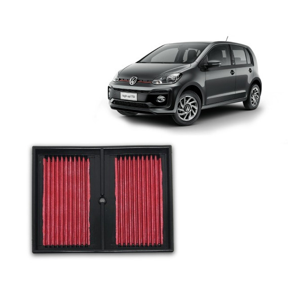 Filtro Ar Esportivo Rs Volkswagen Up! Speed 1.0 Tsi 2017