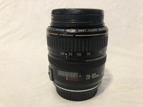 Lente Canon 28-105mm F: 3.5-4.5