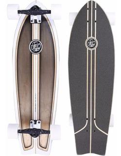 Longboard Patineta Fish Classic Surf Original Oxelo