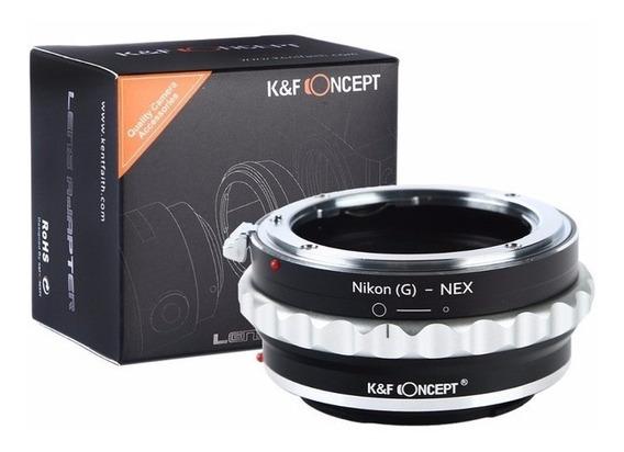 Adaptador Lentes Nikon G Para Cameras Nex E-mount (abertura)