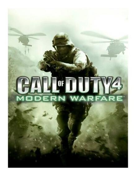 Call Of Duty 4 Modern Warfare Pc Steam Key