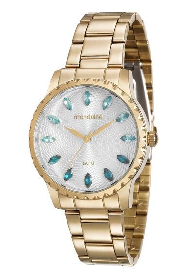 Relógio Mondaine Feminino Dourado 99170lpmvde2 Analógico