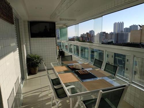 Imagem 1 de 24 de Apartamento 3 Dormitórios Canto Do Forte Amj183