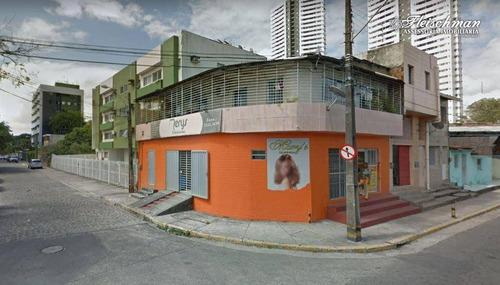 Loja Para Alugar, 189 M² Por R$ 2.500,00/mês - Arruda - Recife/pe - Lo0054