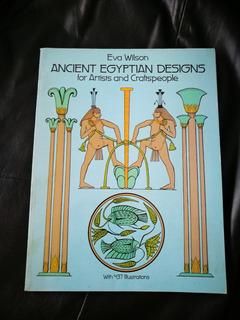 Libro De Dibujos Para Grabado Arte Egipcio 437ilustraciones