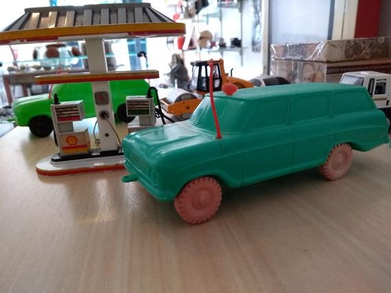 Brinquedo Veraneio Plástico Bolha Anos 70 Três Reis - Verde