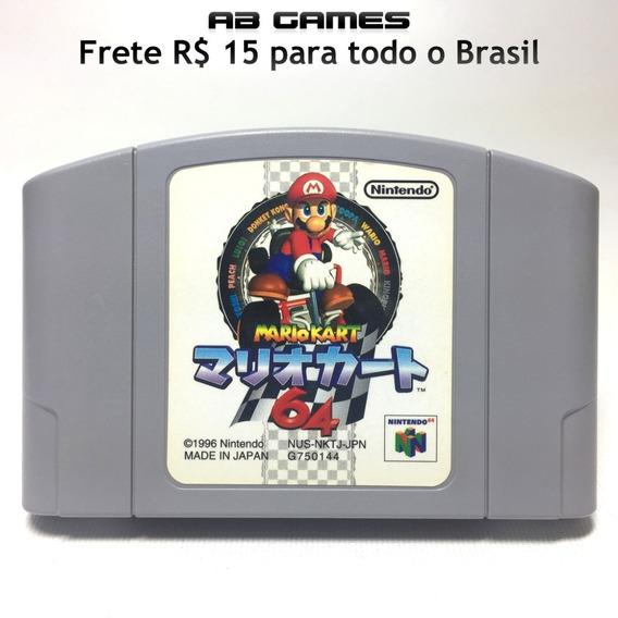 Mario Kart 64 Rev A Japonês Original N64 Nintendo 64