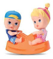 Little Dolls Playground Gangorra Menino E Menina 8097 - Div