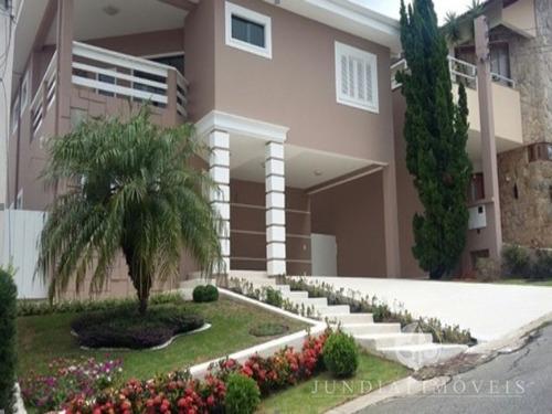 Imagem 1 de 7 de Vendo Linda Casa De Alto Padrão No Quinta Da Malota Em Jundiaí Com Quatro Suítes - Ca00297 - 32421043
